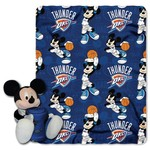 The Northwest Company Oklahoma City Thunder Mickey Mouse Hugger and Fleece Throw Set - view number 1