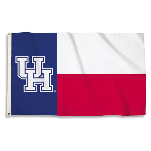 BSI University of Houston Texas Motif Flag