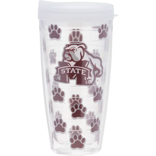 Signature Tumblers Mississippi State University 22 oz. Repeated Pattern Traveler Insulated Tumbler