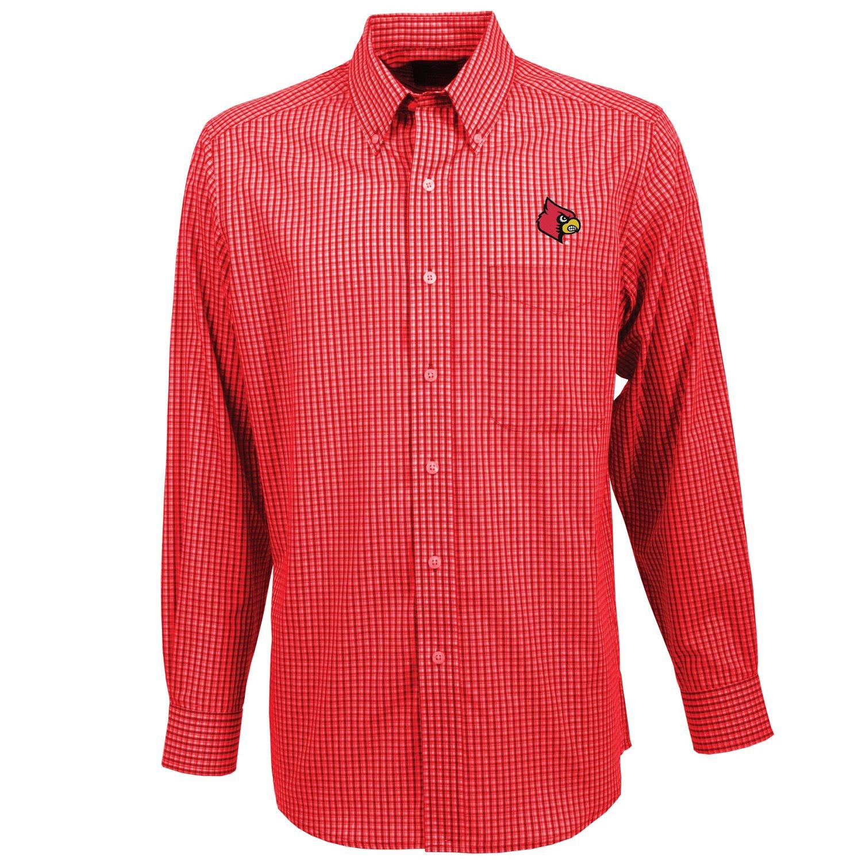 Antigua men 39 s university of louisville associate button for College button down shirts