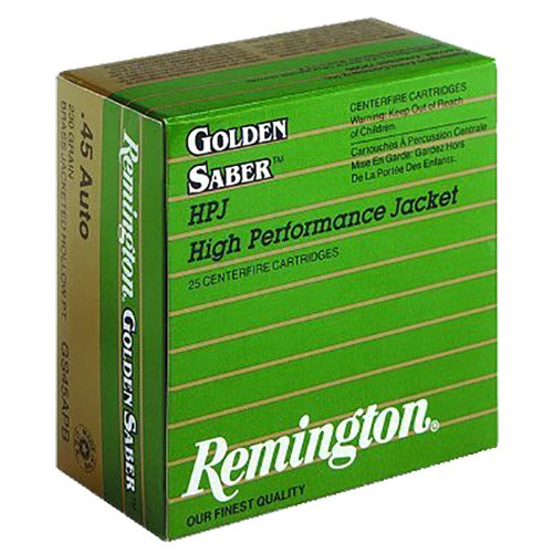 Remington Golden Saber .357 Magnum 125-Grain Centerfire Handgun
