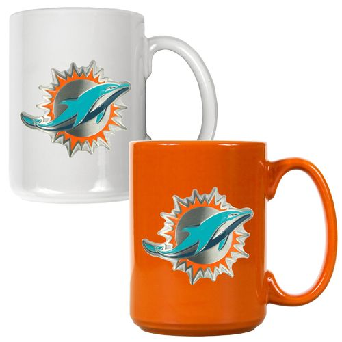 Great American Products Miami Dolphins 15 oz. Coffee