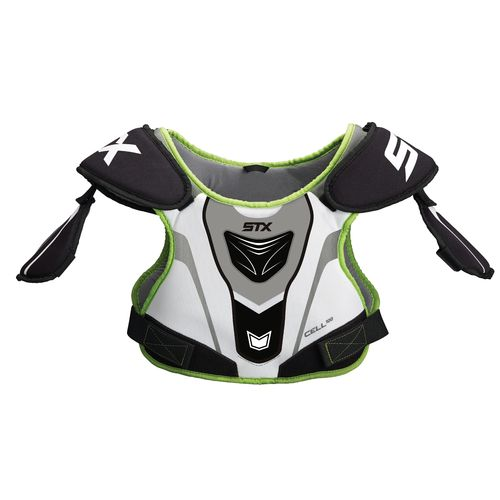 STX Boys' Cell 100 Lacrosse Shoulder Pads