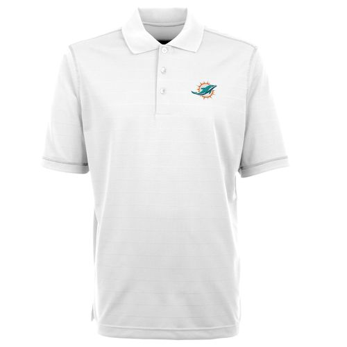 Antigua Men's Miami Dolphins Icon Polo Shirt - view number 1