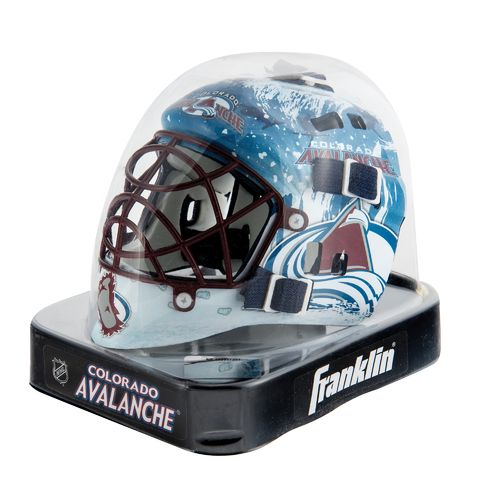 Franklin NHL Team Series Colorado Avalanche Mini Goalie Mask - view number 2