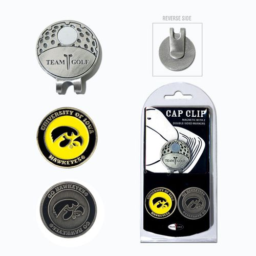 Team Golf University of Iowa Marker Cap Clip - view number 1