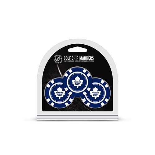 Team Golf Toronto Maple Leafs Poker Chip and Golf Ball Marker Set - view number 1