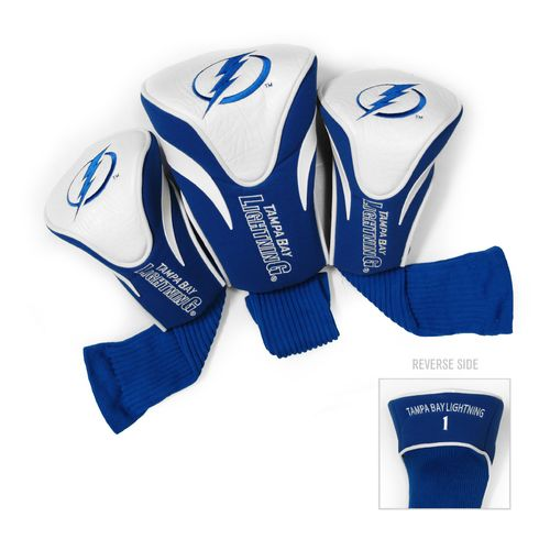 Team Golf Tampa Bay Lightning Contour Sock Head Covers 3-Pack