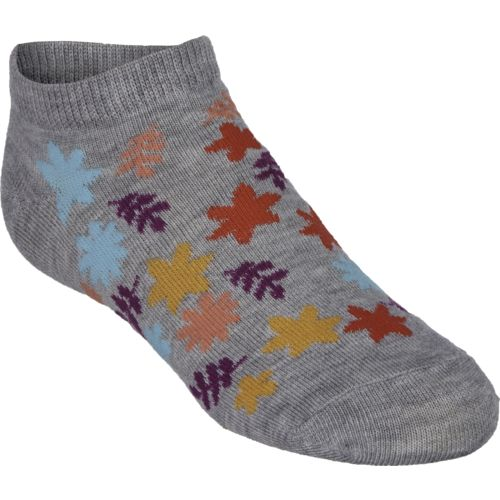 BCG™ Girls' Owl Dot Leaf Flower No-Show Socks