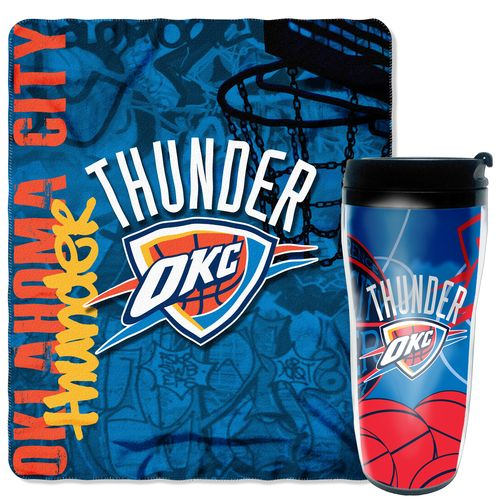 Display product reviews for The Northwest Company Oklahoma City Thunder Mug and Snug Set