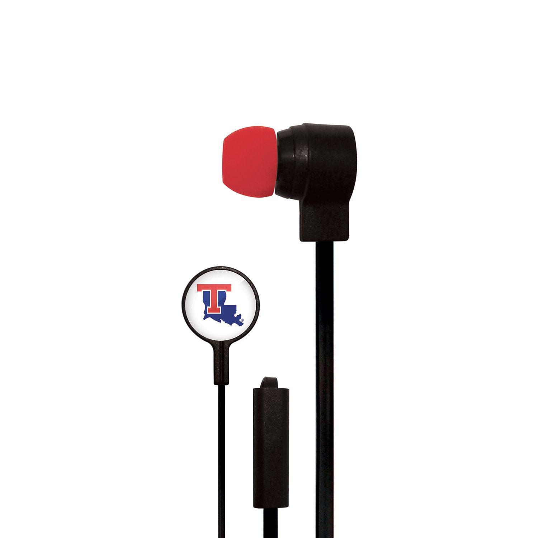 Mizco Louisiana Tech University Big Logo Earbuds