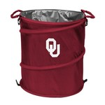 Logo™ University of Oklahoma Collapsible 3-in-1 Cooler/Hamper/Wastebasket
