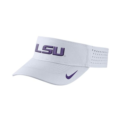 Nike™ Men's Louisiana State University Vapor Adjustable Visor
