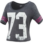 BCG™ Juniors' Cropped Graphic Burnout T-shirt