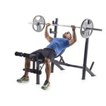 Weider Pro 345 Mid Width Weight Bench - view number 1