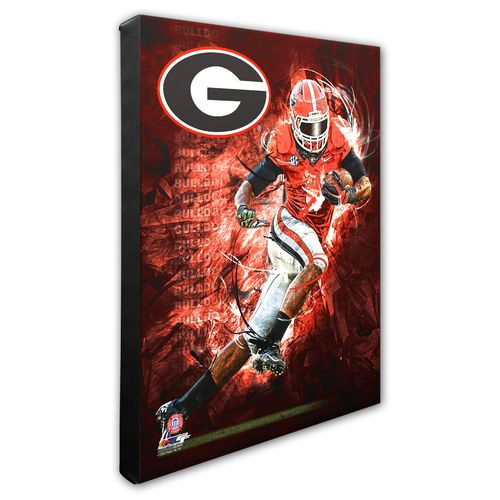 Photo File University of Georgia Player Stretched Canvas Photo