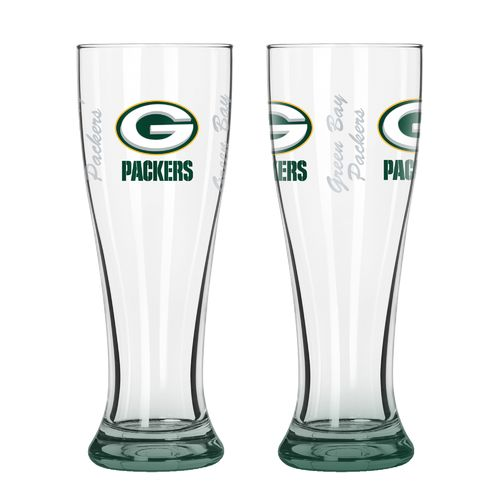Boelter Brands Green Bay Packers Elite 16 oz. Pilsners 2-Pack