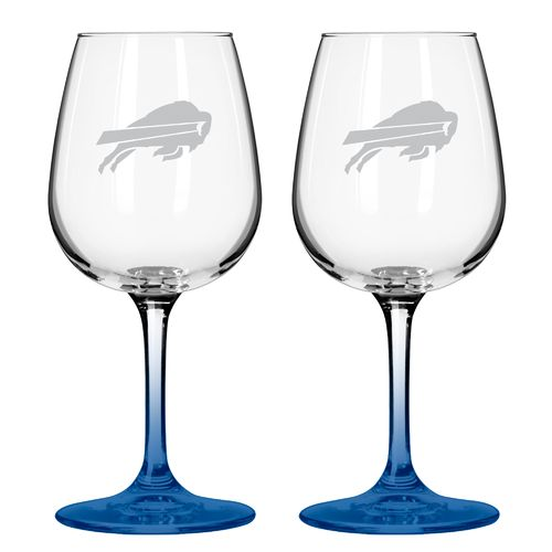Boelter Brands Buffalo Bills 12 oz. Wine Glasses 2-Pack