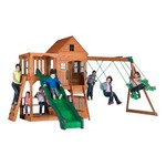 Backyard Discovery™ Pacific View Wooden Swing Set
