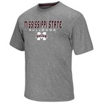 Colosseum Athletics Men's Mississippi State University Arena Short Sleeve T-shirt