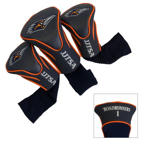 Team Golf University of Texas at San Antonio Contour Sock Head Covers 3-Pack