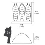 Magellan Outdoors SwiftRise Instant 3 Person Dome Tent - view number 1