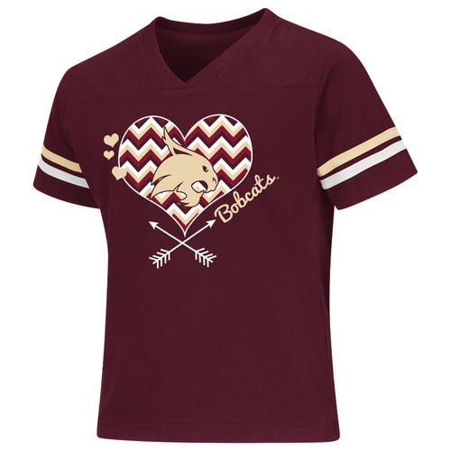 Colosseum Athletics Girls' Texas State University Football Fan T-shirt