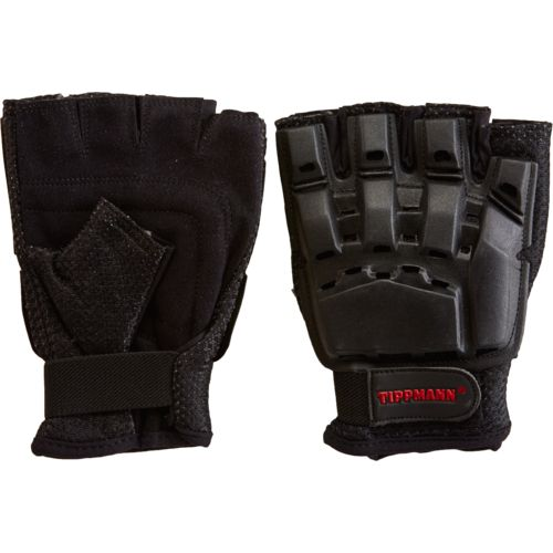 Tippmann Adults' Armored Fingerless Paintball Gloves