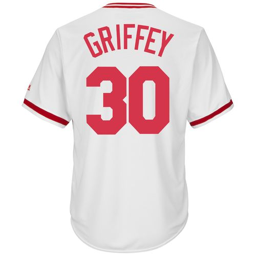 Majestic Men's Cincinnati Reds Ken Griffey #30 Cooperstown Cool Base 1978 Replica Jersey