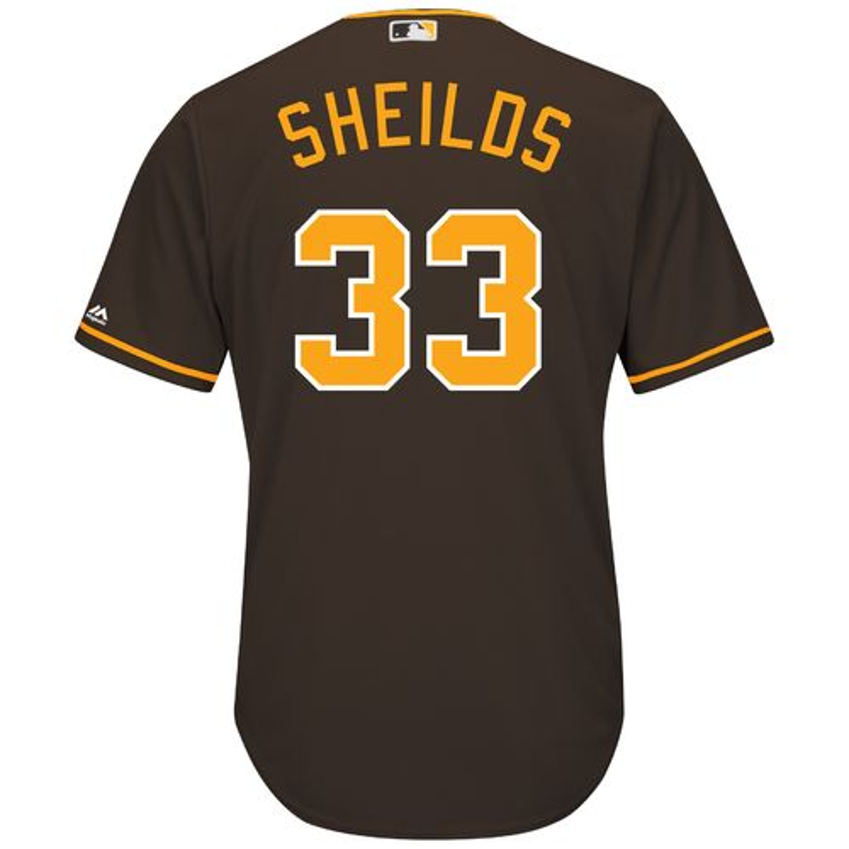 Majestic Men's San Diego Padres James Shields #33
