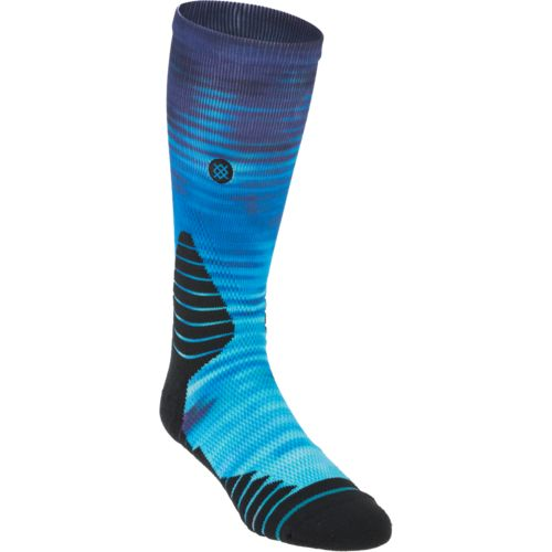 Stance Men's Blue Horizon Fusion Basketball Socks