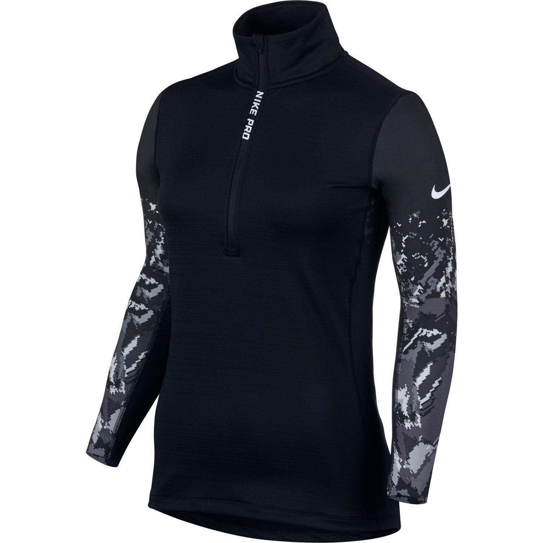Nike™ Women's Pro Hyperwarm 1/2 Zip Top