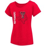 Colosseum Athletics Girls' Texas Tech University T-shirt