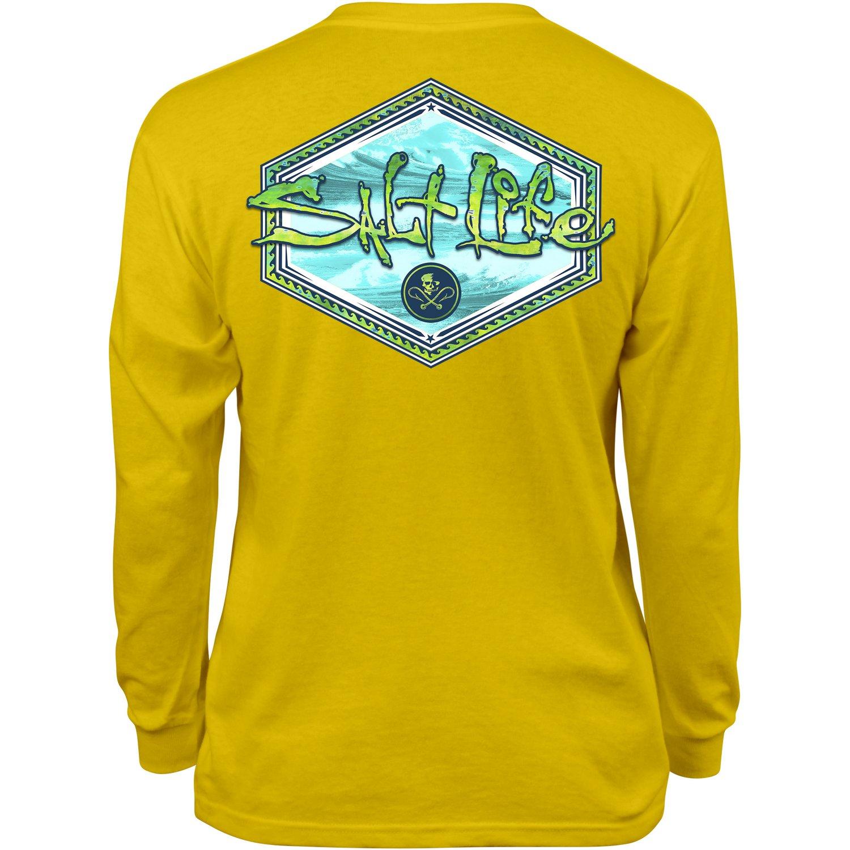 Salt life kids 39 mahi peak long sleeve t shirt academy for Salt life long sleeve fishing shirts