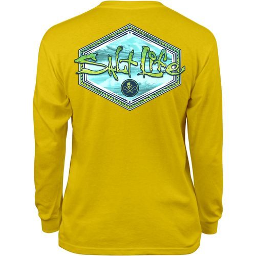 Salt Life™ Kids' Mahi Peak Long Sleeve T-shirt