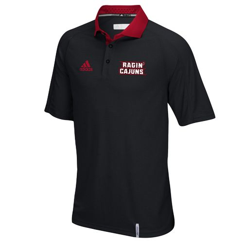 adidas™ Men's University of Louisiana at Lafayette climachill™ Sideline Polo Shirt
