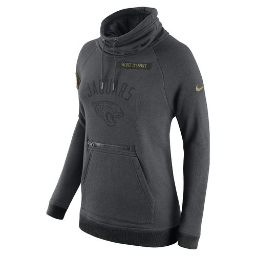 Nike Women's Jacksonville Jaguars Salute To Service Rally Funnel Hoodie