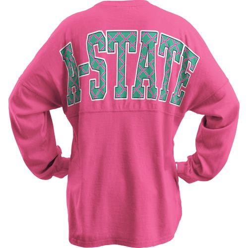 Three Squared Juniors' Arkansas State University Quatrefoil