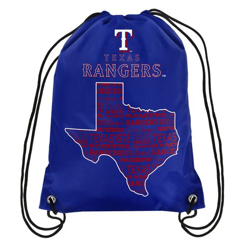 Forever Collectibles™ Texas Rangers Drawstring Backpack