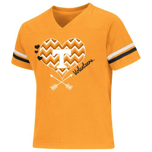 Colosseum Athletics Girls' University of Tennessee Football Fan T-shirt