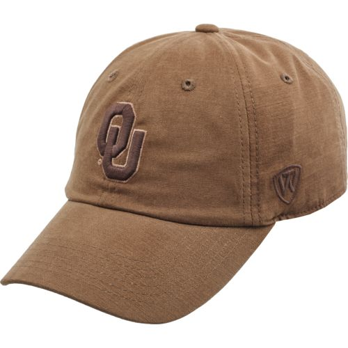 Top of the World Men's University of Oklahoma Bark Cap
