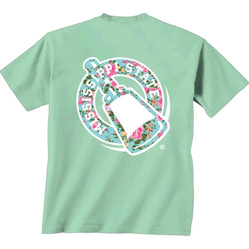 New World Graphics Women's Mississippi State University Floral T-shirt