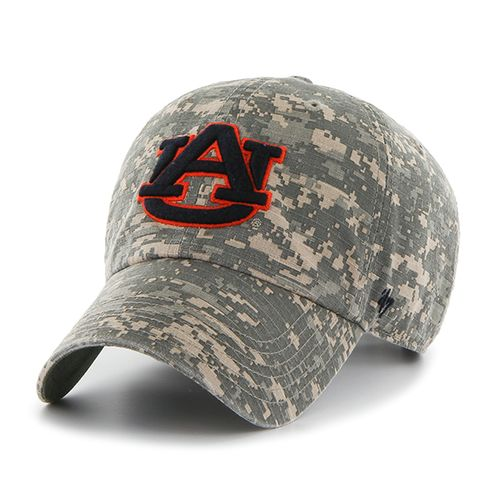 '47 Auburn University Officer Camo Clean-Up Cap