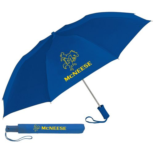 Storm Duds McNeese State University 42' Automatic Folding Umbrella