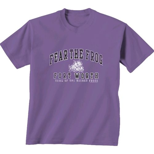 New World Graphics Men's Texas Christian University Local Phrase T-shirt