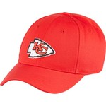 NFL Boys' Kansas City Chiefs Lil' Constant Basic Structure Adjustable Cap