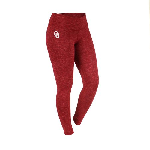 ZooZatz Women's University of Oklahoma Space Dye Legging