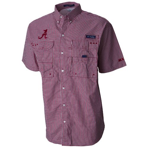 Columbia Sportswear Men's University of Alabama Super Bonehead Short Sleeve T-shirt