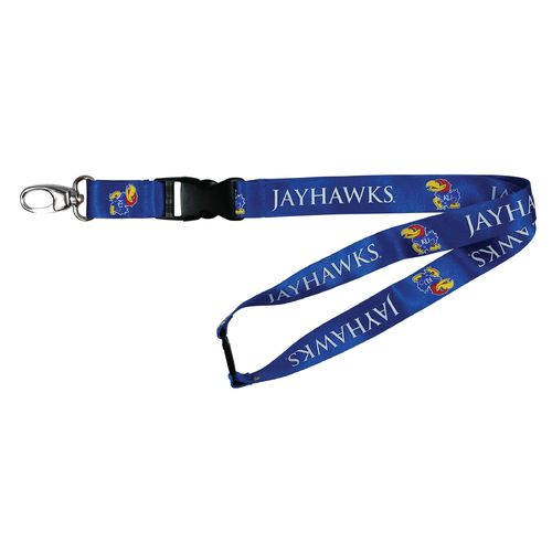 NCAA University of Kansas Team Lanyard - view number 1