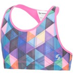 Soffe Girls' Soffe Dri Reversible Bra